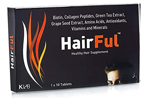 HairFul Healthy Hair Supplement with vitamin Reduce Hair fall & Multivitamins 60 Tablets(Pack Of 6)