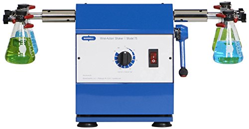 Burrell Scientific 075-775-04-36 Wrist Action Shaker, Model 75-AA, Blue/White