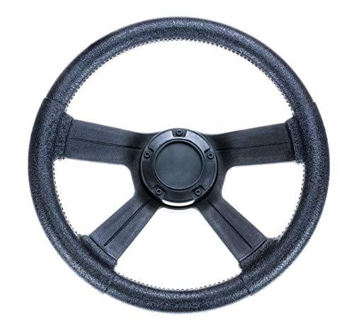 attwood 8315-4 Weatherproof 13-Inch Marine Boat Soft-Grip Steering Wheel with Cap