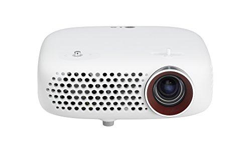 LG PW600G.AEU LED-Projektor (WXGA, Kontrast 100000:1, 1280 x 800 Pixel, 600 ANSI Lumen, HDMI, USB) weiß