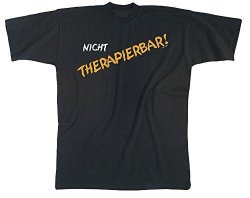 T-shirt unisex met print - niet thermisch papier - 09390 zwart - maat S-XXL.