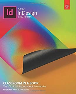 Adobe InDesign 2020 release Classroom in a Book