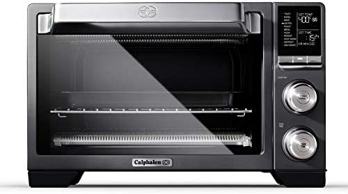 Calphalon Performance Air Fry Convection Oven Countertop Toaster Oven Dark Stainless Steel product image