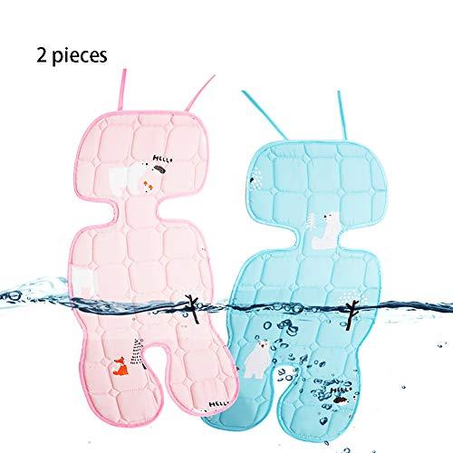 KLJHMAP Baby-Sitzauflage, Kinderwagen Matte Universal-Eisseide Latex Waschbaren Sommer Für Kinderwagen, Kinderwagen, Kinderwagen, Buggy Und Autositz