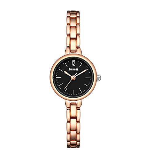 Janly Ladies Watches Fashion Simple Star Diamond Inlaid Alloy Watch Ladies Quartz Watch Versatile Valentine's Day