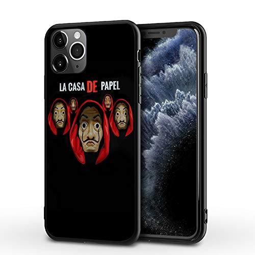 JIJUEMIU iPhone XR Funda Carcasa Suave La Casa de Papel Series de...