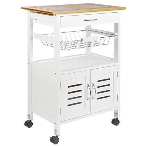 real,- QUALITY -   Küchenrollwagen  