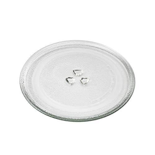 MIRTUX Plato para Microondas compatible de 245 mm de diámetro para Fagor, LG, Balay, Bosch, Candy, Edesa, Panasonic, Siemens y Teka. Código del recambio: 662071