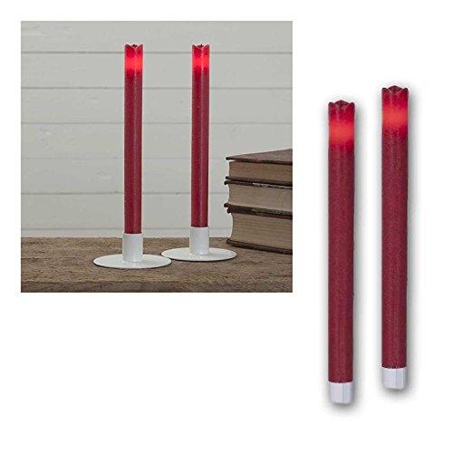 'Lot de 2 bougies à LED\