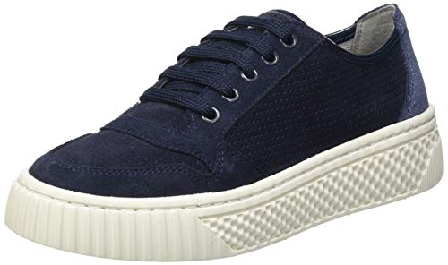 Geox Damen D LICENA A Sneaker, Navy, 38 EU