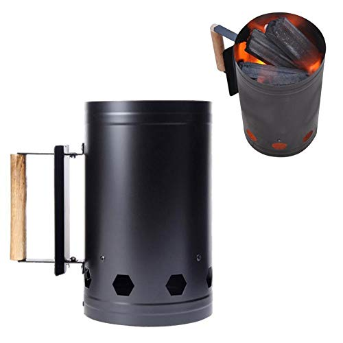 FLLOVE Herramienta de Barbacoa Fast Estufa de carbón Encendido del Barril de Carbono al Aire Libre Barbacoa arrancador de Fuego del carbón de leña Estufa Cubo de Picnic Restaurante