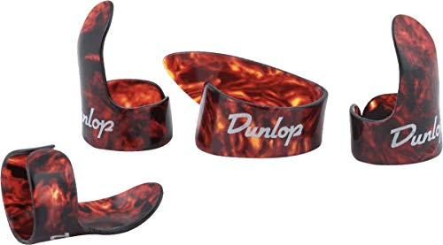 Dunlop 9020TP Shell Plastic Finger and Thumb Picks
