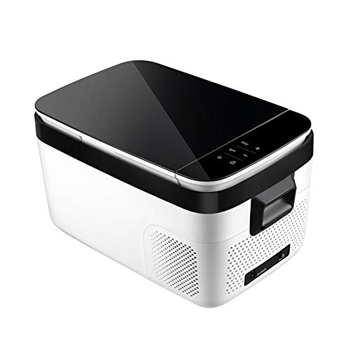 Auto-compressor, koelkast, klein, mini-vrieskast, slaapzaal, snelkoelbox, 4 modi, draagbare dual use koelkast, 12 V, 24 V, 220 V
