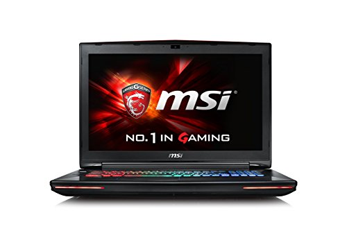 MSI GT72S-6QEG16H21 43,9 cm (17,3 Zoll) Laptop (Intel Core i7 6700HQ, 16GB RAM, 1TB HDD, NVIDIA GF GTX 980M, Win 10 Home) schwarz/grau