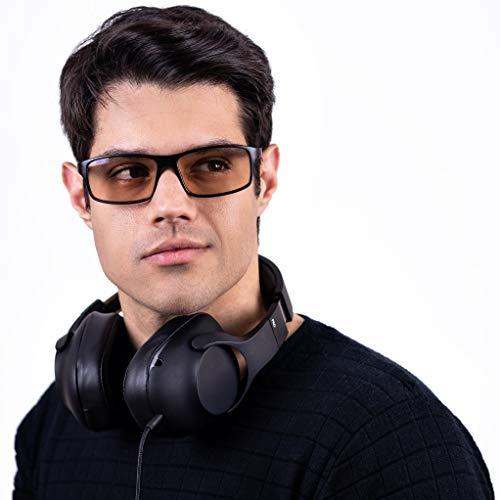 Oculos para Gamer Titans Peter - Lentes Marrom