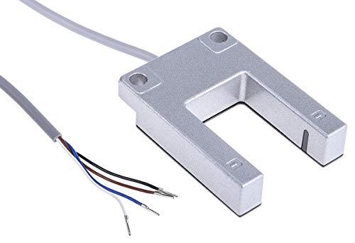 RS PRO Optischer Sensor, Gabellichtschranke, Bereich 30 mm, PNP Schließer Ausgang, Anschlusskabel