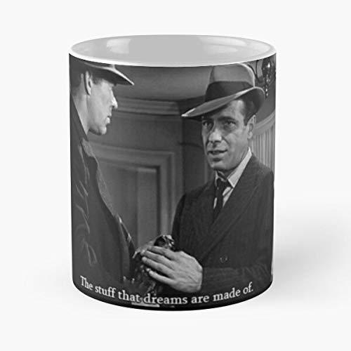 Desconocido Lauren Bacall Old Movie Bogart Hollywood Maltese Falcon Humprey Taza de café con Leche 11 oz