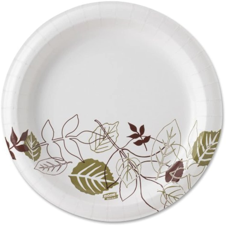 tienda en linea Ultra Pathways Heavyweight Paper Plates, Plates, Plates, 8 1 2 , verde Burgundy, 125 per Pack by DIXIE by Dixie  nueva gama alta exclusiva