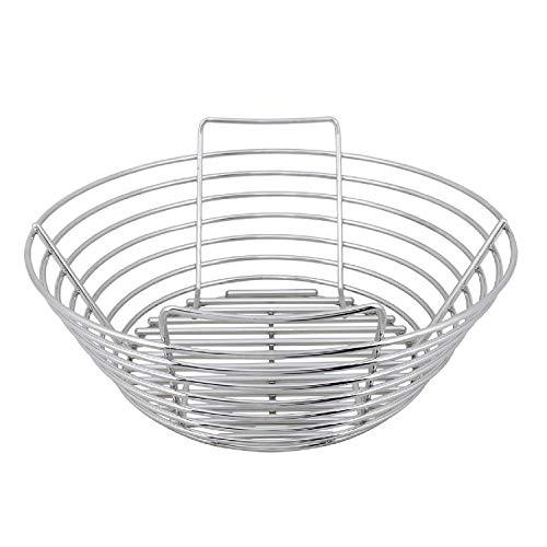 Best Buy! Kick Ash Basket Stainless Steel Charcoal Ash Basket for Big Green Egg Grill - Medium