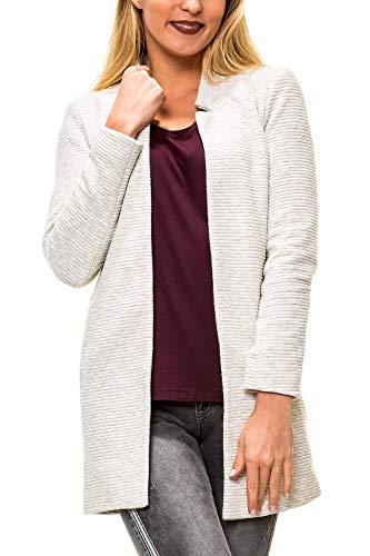 ONLY Damen Übergangsmantel Kurzmantel Long Blazer (M, Colour 4)