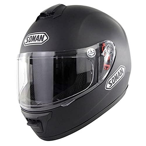 Casco de Motocross Protección Integral, Aerodinámico, Cómodo Casco de Motocicleta para Bicicleta de Calle Unisex Aprobado Por Dot/Ece para Bicicleta de Montaña, Bicicleta de Montaña,#4,L