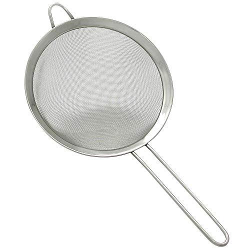 GRÄWE Küchensieb aus Edelstahl Ø 20 cm, Dämpfeinsatz für Kochtöpfe mit Rand, spülmaschinengeeignet