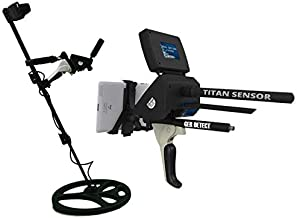 GER DETECT Titan 1000 Professional Geolocator Long Range Professional Metal Detector - Underground Depth Scanner & Distance Targeting - Find Gold, Silver, Coins, Jewelry, Cavity, Larger Treasure