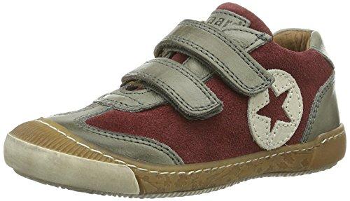 Bisgaard Unisex-Kinder Schuh mit Klettverschluss Low-Top, Rot (86 Bordo), 35 EU