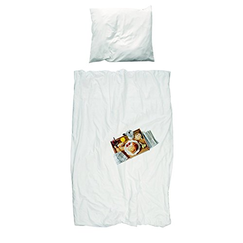 Snurk Parure de lit Breakfast- 1 Personne 140x200 cm