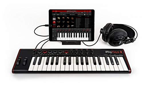 Mini-Tastatur 25 Ultra tragbar: Lightning, USB, USB-OTG für MAC/PC