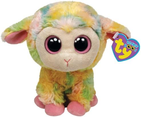 Ty Beanie Boos Blossom Multi Colored Lamb 6 Plush product image