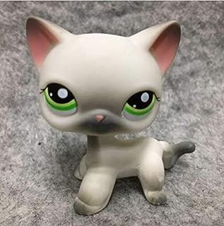 Pet Shops Littlest LPS Figure Loose Toy #125 Grey Short Hair Kitten Cat