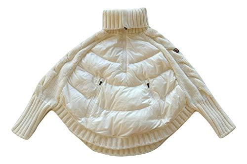 Moncler Junior Pullover Tricot Rolli Cardigan weiß, Weiß 12 Jahre