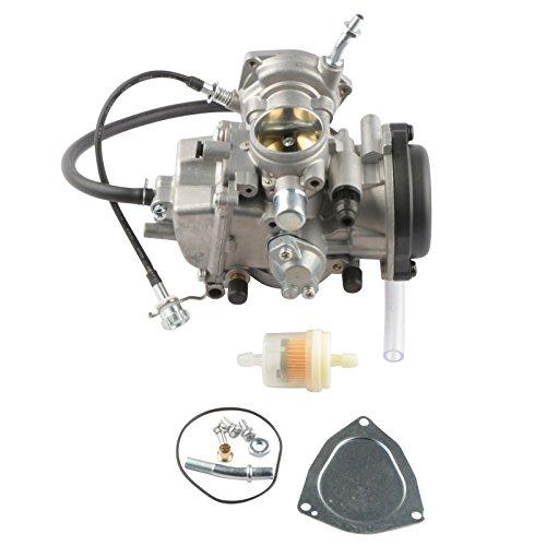 MOSTPLUS Carburetor Carb Compatible for Yamaha 2000-2006 Kodiak 400 YFM400 & Big Bear 400/2004-2006 Bruin 350/2007-2011 Grizzly 350/2007-2012 Grizzly 450