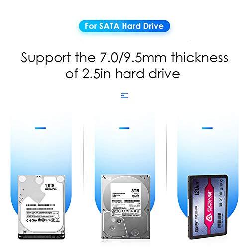 Traioy Unidad de Disco Duro Externo Adaptador USB 3.0 HDD Dock ...