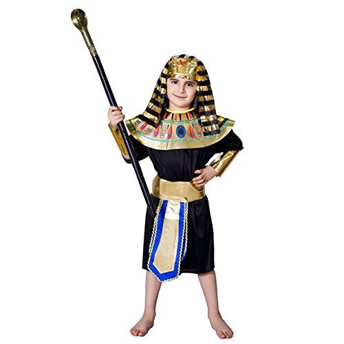 DSplay Kid's Egyptian Pharaoh Costume (10-12Y)