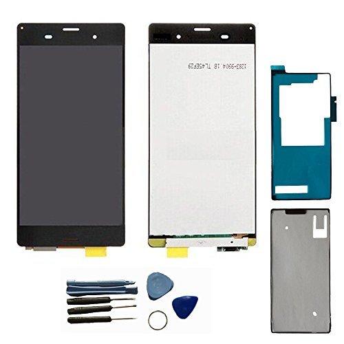 LCD display Touchscreen Digitizer Assembly Reparatursatz für [Sony Xperia Z3 D6603 D6643 D6653 L55u L55t] Bildschirm Komplettset mit Werkzeuge,Qualität wie das Original