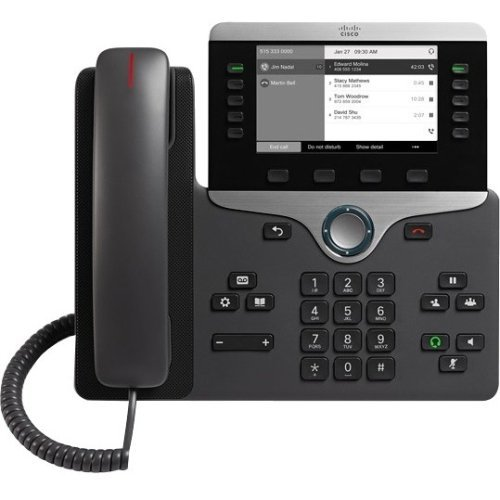 Cisco CP-8811-K9 IP Phone Without Power Supply