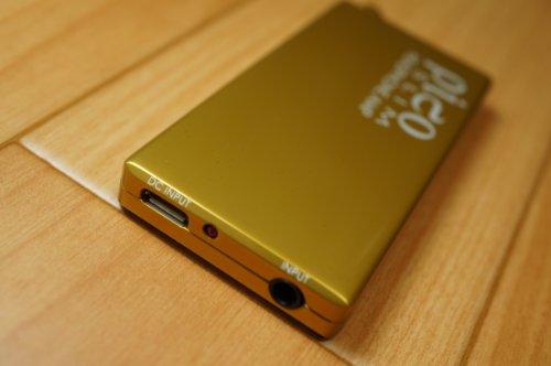 HeadAmp Pico Slim USB chargable Portable Headphone Amp Gold