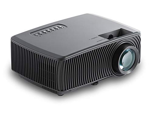 Balliatic HD LED Projector 720P, 1080P, 2000 Lumens Portable Movie Projector with 50,000 Hrs LED Lamp Life, with Inbuilt Speaker for Business, Projects, Office & Education