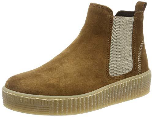 Gabor Shoes Gabor Jollys, Damen Kurzschaft Stiefel, Beige (Cognac (Natur) 14), 39 EU (6 UK)