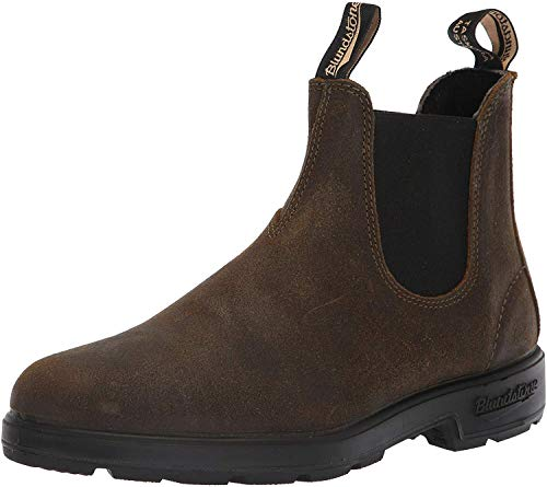 Blundstone Unisex 1615 - Suede Original Chelsea Boot 5.5 M Dark Olive