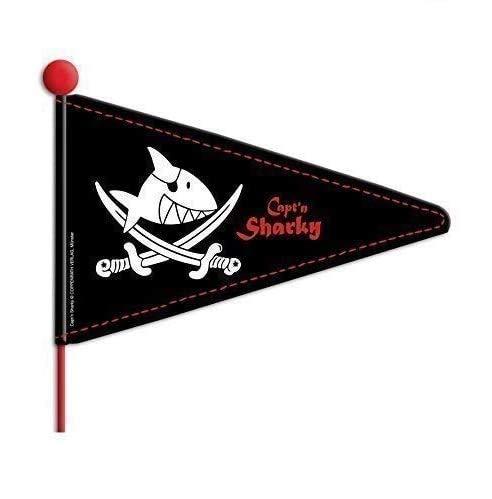 01300504 Kinderfahrrad Sicherheits Wimpel Sicherheitsfahne Capt`n Sharky