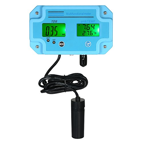 KKmoon Professional 3 1 medidor pH/TDS/TEMP Detector