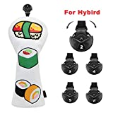 Sushi Pattern Golf Club Head Covers (for Hybrid)