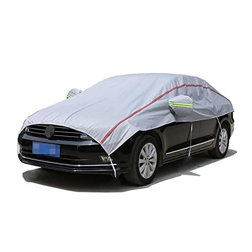 Cubierta de la cubierta del parabrisas de la cubierta del coche protege la privacidad de los vehículos, espesando la cubierta del espejo de la capucha del coche a prueba de agua, compatible con Volksw
