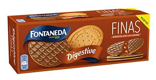 Fontaneda Digestive Finas Chocolate Leche, 170g