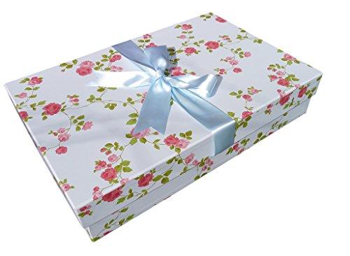 Die Klassische Brautkleidbox, 75cm x 50cm x 15cm, 'WILD ROSE'
