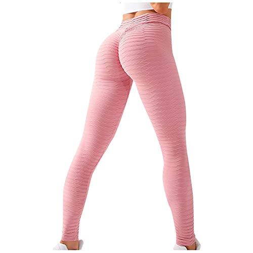 Women Skinny Yoga Pants High Waist Elastic Solid Color Breathable Quick-Drying Fitness Pants Stretch Tight Workout Sports Trousers Sweatpants Tummy Control