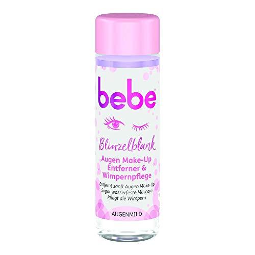 bebe Blinzelblank Augen Make-Up Entferner & Wimpernpflege, 125 ml